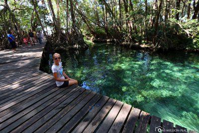 Die Süßwasserquelle Isla Pájaros