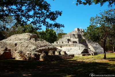 The Mayan site of Edzna