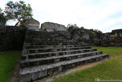 Die Ruinen der Mayastätte Kohunlich