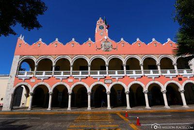 Das Rathaus von Merida