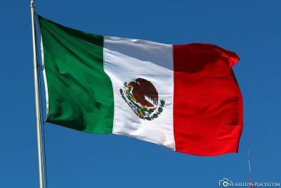 Die Mexikanische Flagge