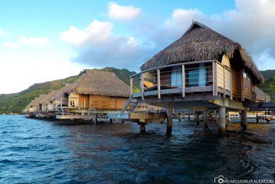 Unser Overwater-Bungalow