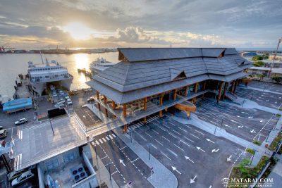 Das Pape'ete Ferry Terminal