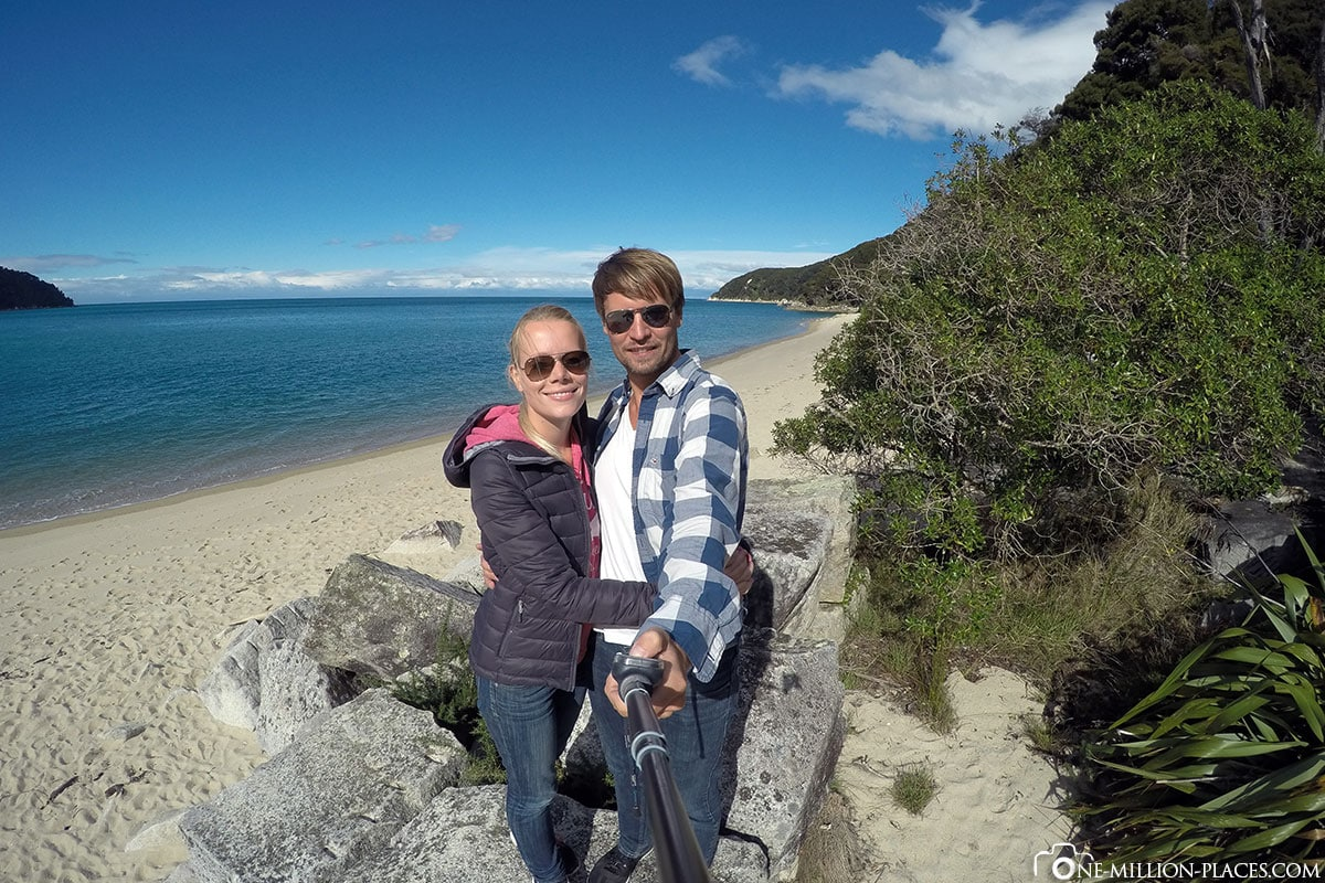 Beach, Abel Tasman National Park, New Zealand, North Island, On Your Own, Travelreport