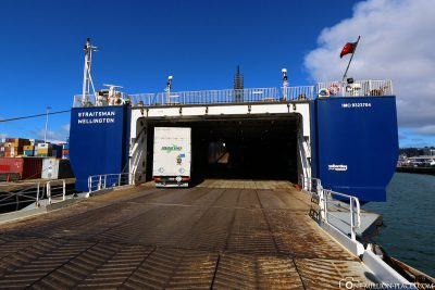 The entrance to the ferry