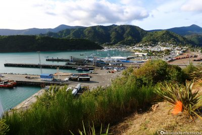 The port of Picton