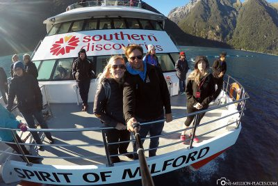 Our tour on the ship of Southern Discoveries
