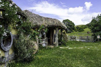 The Hobbit Town in New Zealand