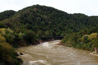 Die Buller Gorge Swing Bridge
