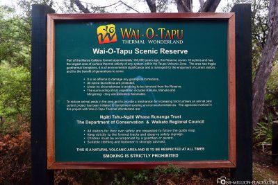 Willkommen in Wai-O-Tapu