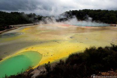 Die tollen Farben von Wai-O-Tapu