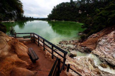 Der Lake Ngakoro