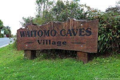 Entrance To get to Waitomo Caves Village