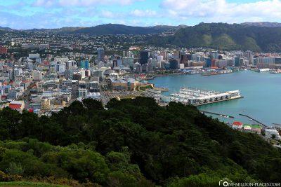Der Ausblick vom Mount Victoria