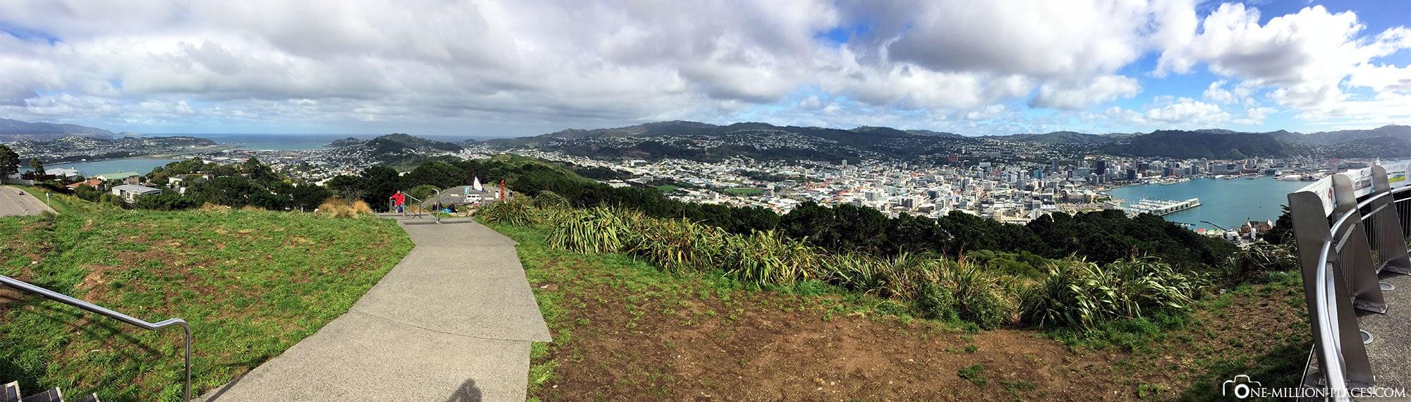 Wellington, Mount Victoria, Neuseeland, Nordinsel, Auf eigene Faust, Reisebericht