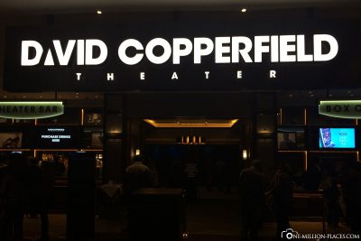 The David Copperfield Show at the MGM Hotel