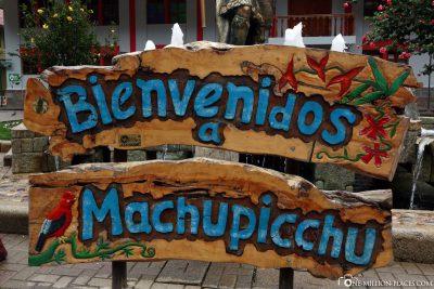 Willommen in Machu Picchu