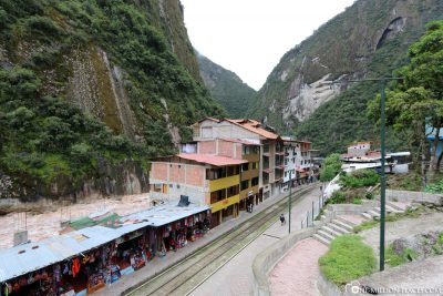 The train station for Machu Picchu