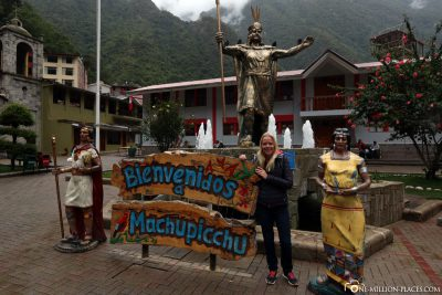 The centre of Aguas Calientes