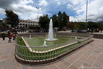 The old town of Cusco