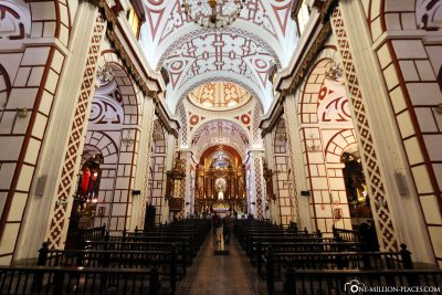 Die Klosterkirche Iglesia de San Francisco