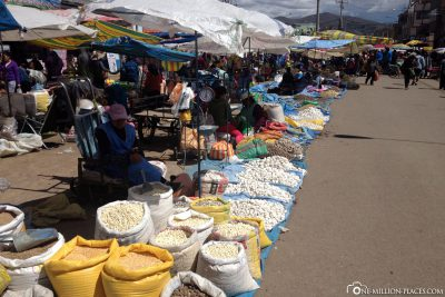 The weekly market
