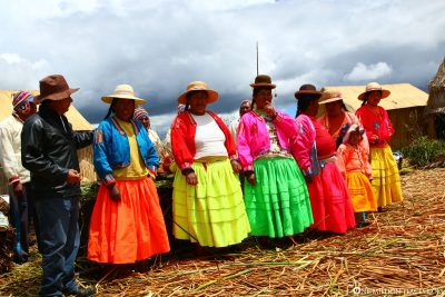 Traditional costumes of the Uros