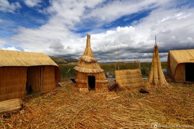 The huts of the Uros