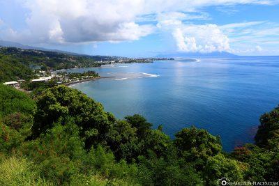 Der Aussichtspunkt bei Pirae