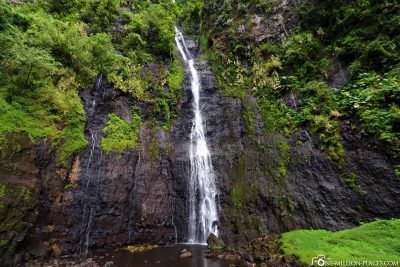 Die Wasserfälle von Faarumai