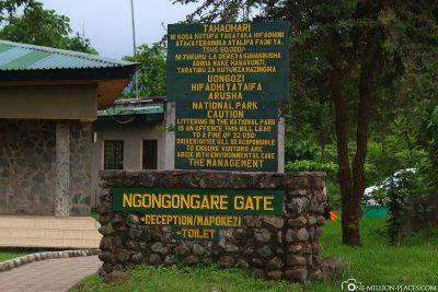 The Ngongongare Gate