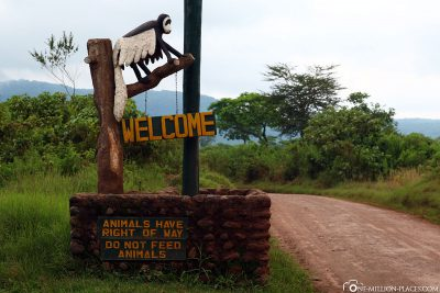 Welcome to Arusha National Park
