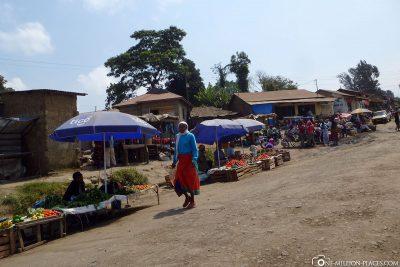 Die Straßen von Arusha