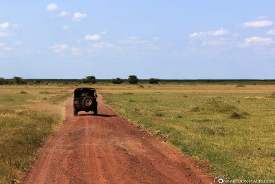 Start of the game drive