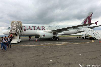 Arrival in Kilimanjaro