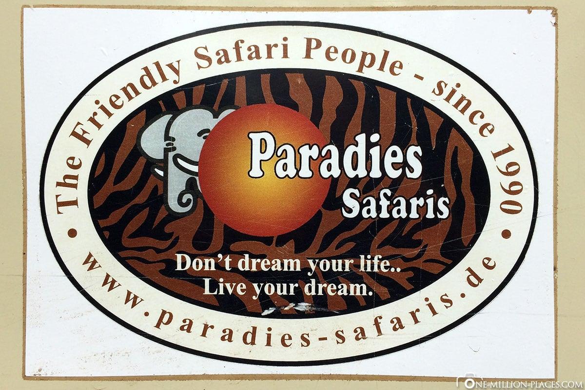 Logo, Paradise Safari, Tour, 7 Days, Tanzania, Travelreport
