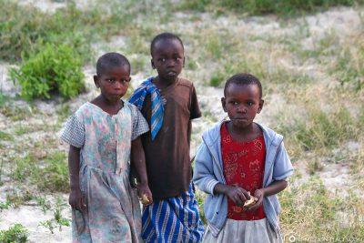 Massai-Kinder