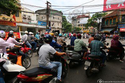 The Roller City of Hanoi