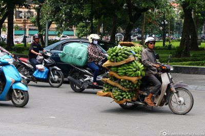 Banana transport