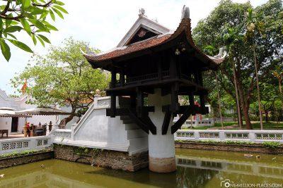 The One Pillar Pagoda Chua Mot Cot