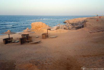 Die felsigen Buchten des Jaz Samaya