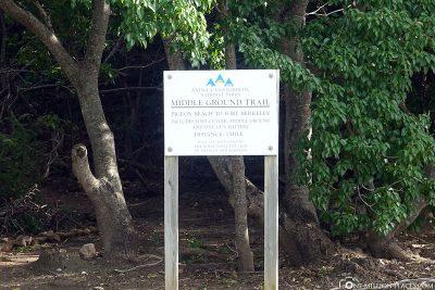 Der Middle Ground Trail
