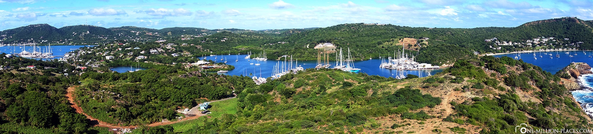 Panoramic view, Middle Ground Trail , Antigua, St. John's, Caribbean, World Heritage, Attractions, On Your Own, Travelreport