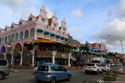 Häuser in der Innenstadt
