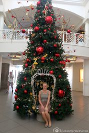 Christmas atmosphere at the Royal Plaza Mall