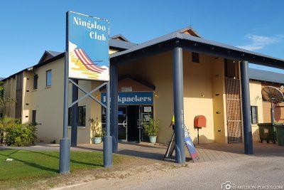 Das Hostel Ningaloo Club