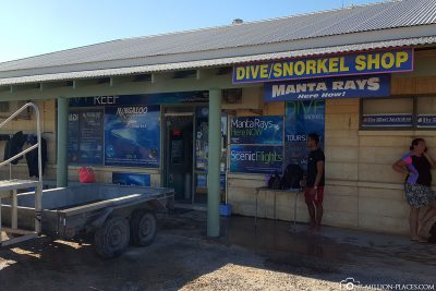 The Dive Center of Ningaloo Reef Dive