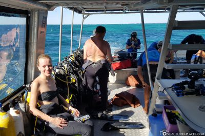 The submersible of Ningaloo Reef Dive
