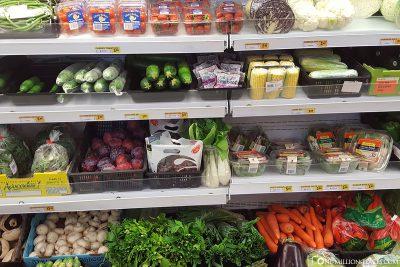 Lebensmittelpreise in Denham