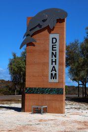 Das kleine Städtchen Denham